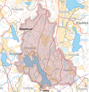Pitkäjärven valuma-alue
